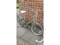Vintage B.S.A fold up bicycle
