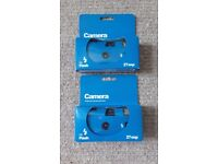 Two Disposable Cameras