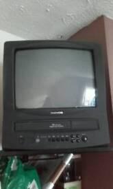 VHS tele combo