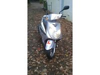 YAMAHA CYGNUS 125 SCOOTER NEW MOT.