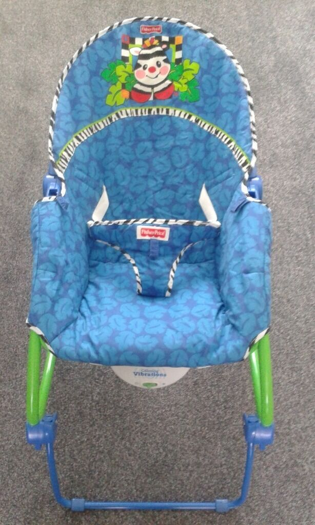 FISHER PRICE CHAIR AND PLAY MOBILEin Haydock, MerseysideGumtree - Baby chair and baby mobile by Fisher Price. Chair alters to sleep position and mobile excellent play toy for up to 6 months old. Really good for baby mobility skills. As New