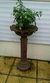 Cast iron planter