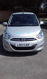 Hyundai i10 Active Automatic Silver low miles