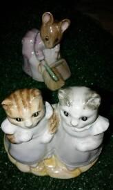 Beatrix potter figures