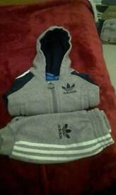 Addidas tracksuit 0-3 months