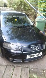 Final price reduction to clear! 3DOOR AUDI A3 2.00 TDI SPORT no offers proper bargin full histroy!,