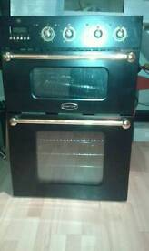 Rangemaster 90D intergrated double oven