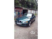 BMW Z3 good cond runs well 12mth mot