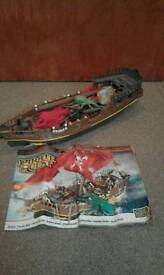 MEGA BLOCKS PIRATESHIP.