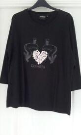Guinness black T shirt size16