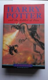 Harry Potter and the Goblet of Fire.(first edition)