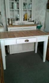 Kitchen table, shabby chic