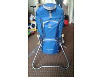 Deuter kid comfort II toddler backpack and carrier