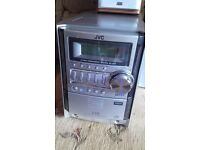 JVC stereo, radio and 5 CD player
