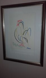 Picasso Rooster Print
