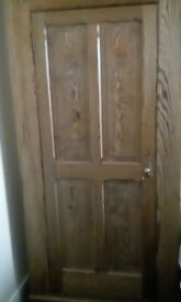 oak cupboard with character