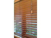 Wooden Teak Venetian Blinds - used & perfect condition. various sizes. Warrenpoint