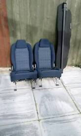 Peugeot seats and desk board
