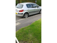 Peugeot 307 hdi For Sale - Used Daily, Good Engine . MOT runs out this week hence £350