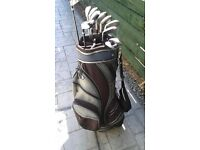 Mizuno MX19 Golf iron Set (9) 3-SW. Right Handed, Regular Flex. With a Mizuno Cart Bag