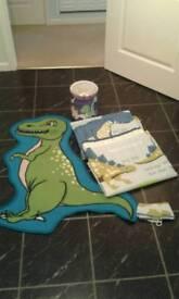 Dinosaur Bedroom Set.