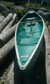 Coleman c anandian style canoe