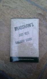Bradshaw's Railway Guide 1922 - Reprinted in 1985