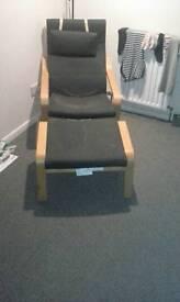 Chair n foot stool
