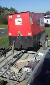 12kva genset diesel Kubota towable