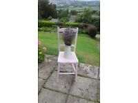 Dining Chair hand painted in Lilac