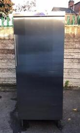 Very good condition full working order commercial stainless steel fridge only £350 price