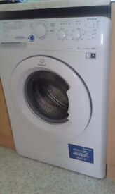 6kg Indesit washing machine like new