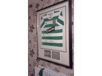 celtic european cup winners 1967 signed shirt