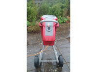 Mountfield 'quiet' garden shredder (portable)