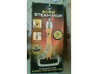 Quest 900w mop steam cleaner brand new