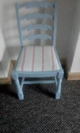 Pretty shabby chic bedroom chair