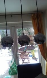 3 chrome downlighters