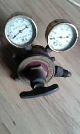 Vintage British oxygen gauges