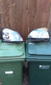Clio headlamp both in mint condition