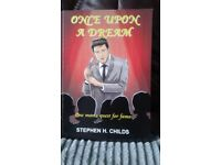 1st edition Once upon a dream signed, Stephen H. Childs £5-99