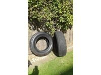 TYRES RAV4 215/70/16 slightly used but in excellent condition.