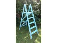 Wooden Painted step ladders
