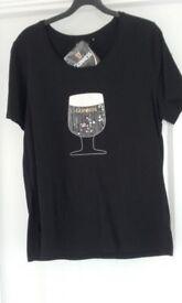 Guinness size 16 T shirt