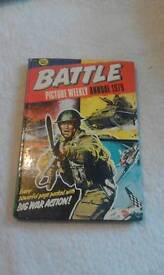 Battle picture weekly annual 1979.
