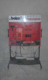 balco-lign 4 wheel laser alignment gauges