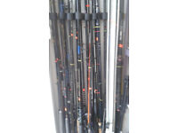 large variety of fishing tackle for sale , rods, reels, end tackle etc etc small items from £1