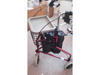 Walking frame disability aid