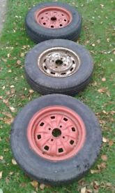 Trailer wheels - Rostyle / Ford / Contina / Capri / Escort