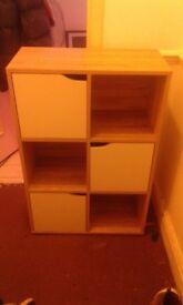 3 doors 3 chelf cabinet
