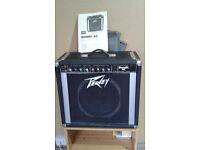 1980s Peavey Bandit 65 Watt Guitar Amplififer